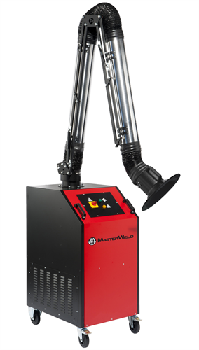 Welding Fume Extractor with Heavy Duty Self Supporting Arm