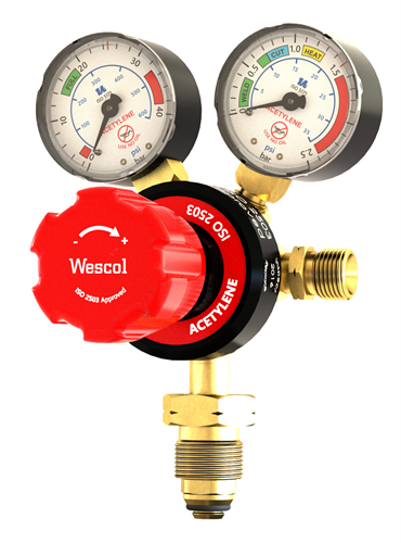 Acetylene Single Stage Gas Regulators