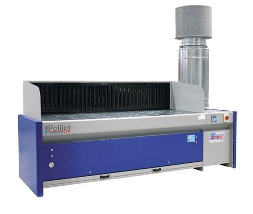 1500mm Downdraft bench with automatic filter cleaning system