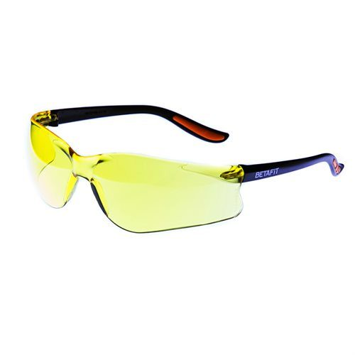 S.1437-AMB Amber Safety Glasses