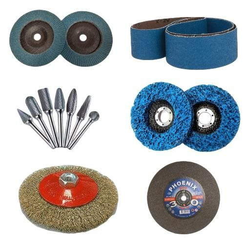 Abrasives and Metal Finishing, Cutting and Grinding Disks, Sanding Discs, Abrasive Flap Discs