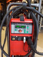 Fronius Magicwave 250 Water Cooled Second Hand TIG Welder-Front Panel