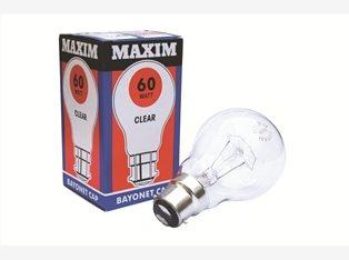 110v Bayonet bulbs