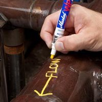 W.0081-VAY Yellow Valve Action Paint Marker