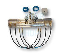 Auto-Gas Manifold - Inert 300 Bar 2x2 20 Bar Outlet HiFlo