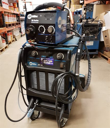 Miller XPS 450 W-Cooled Sep MIG Package - Second Hand