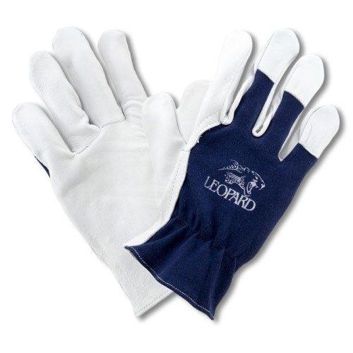 Grain Leather Driver Gloves with Cotton Back Size 8 EN388:2003