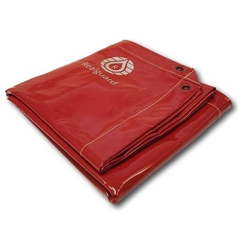 Realguard Red PVC Welding Curtain 2340mm x 1740mm