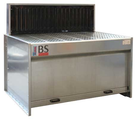 Downdraft Benches for ducting installations