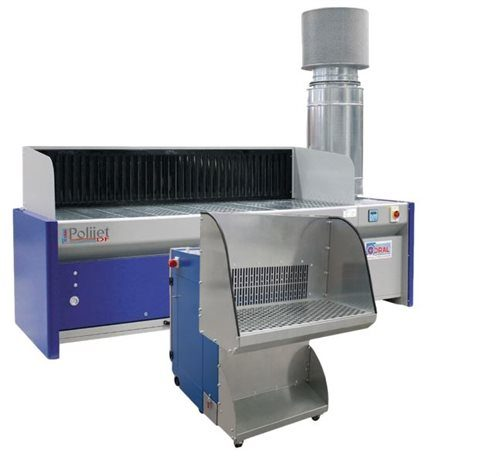 Downdraft Benches with Built-in Extraction Filters