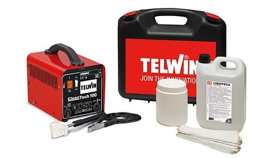 Telwin Cleantech 100 Stainless Steel Welder Cleaner