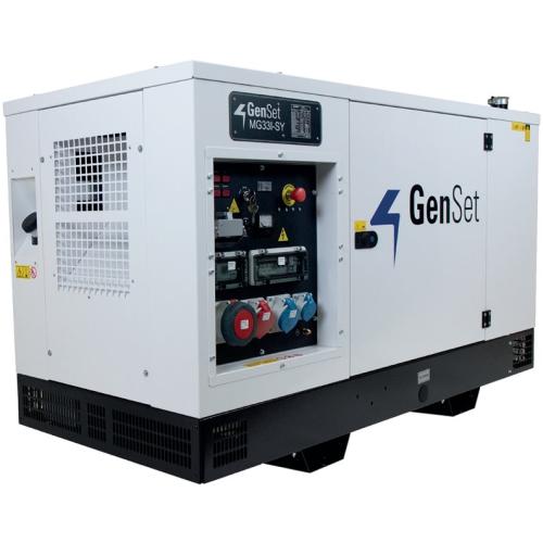 GenSet MG 33 I-SY Diesel Generator UK Spec 415/230V/110V