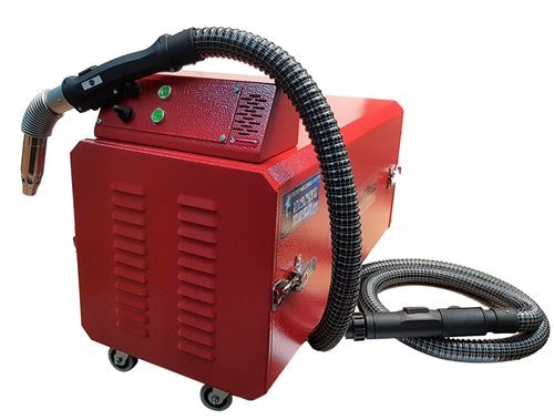 MasterWeld MW8002 Portable Welding Fume Extractor with Max Arc MA36 Welding Fume MIG Torch