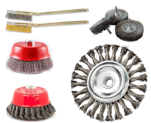 Wire Brushes Complete Range