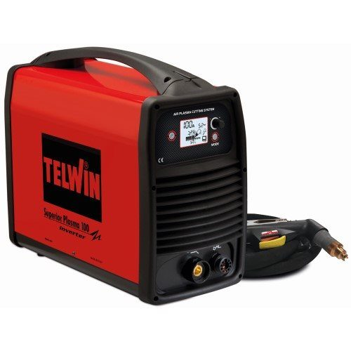 Telwin Superior 100 400V 3ph Plasma Cutter Package