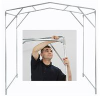 Large Heavy Duty Work Shelter Complete 3m x 3m x 2m