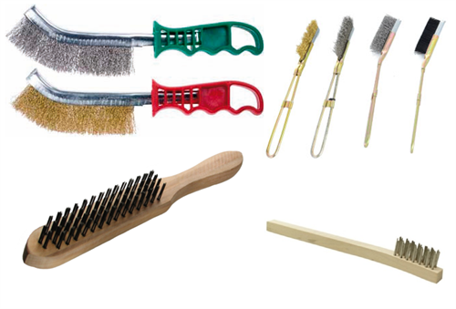 Wire Brushes for manual cleaning applications