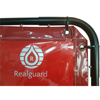 Realguard Welding Curtain Manufactured with Kevlar Stitching