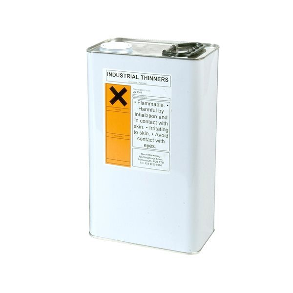 AES Industrial Xylene Thinners 5 Ltr Can