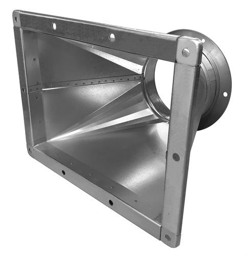 MBS Downdraft Bench Adaptor Kit for 300mm Ductwork