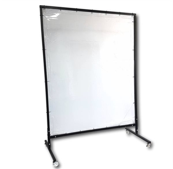 Realguard 6ft x 6ft Clear Safety Screen Complete